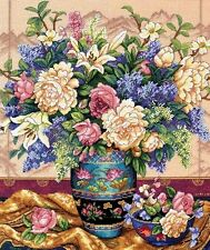 "Dimensions Gold Counted Cross Stitch kit 12"" x 14"" ORIENTAL SPLENDOR #35163 Sale"