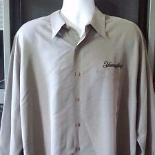 Yuengling Lager Beer Ashworth Button Down Short Sleeve Casual Shirt Men's XL