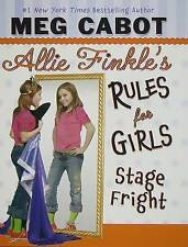 Stage Fright (Allie Finkle's Rules for Girls, No. 4)-ExLibrary