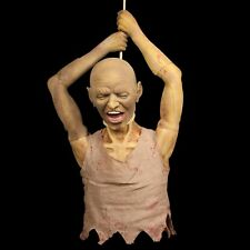 Halloween Props Hanging Ghost Bloody Man Realistic Toys Haunted House Decoration