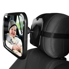Car Baby Seat Inside Mirror Wide View Back Safety Rear Ward Facing Care Mirror