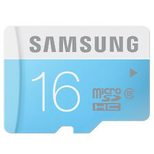 New Samsung 16GB Class 6 24MB/S MicroSD MicroSDHC TF Flash Memory Card 16 GB G