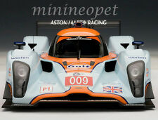 AUTOart 80908 LOLA ASTON MARTIN LMP1 2009 #009 1/18 DIECAST MODEL CAR LIGHT BLUE