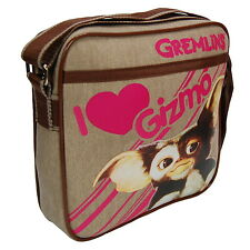 NEW OFFICIAL Gremlins Gizmo Classic Retro Cross Body / Messenger / Shoulder Bag