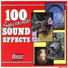 NEW - 100 Spectacular Sound Effects by Various Artists