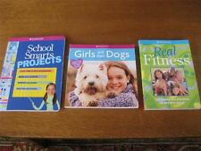 American Girl Library Real Fitnes School Smarts Projects Girls & Their Dogs Book