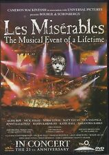 Les Miserables In Concert  25th Anniversary DVD Concert