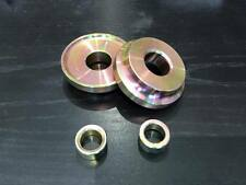 For NISSAN PATROL GQ GU 15MM RADIUS ARM SPACERS FOR 4X4 SUSPENSION BUSH KIT