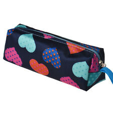 Heart Square Travel Organizer Cosmetic Make Up Holder Case Bag Pouch Free P&P A1