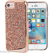 Case-mate Brilliance Tough Genuine Rose Gold Crystal Case For iPhone 6s NEW