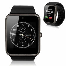 GT08 Bluetooth Smart Wrist Watch GSM Phone Sim Card For Android IOS iPhone Black