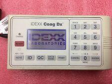 IDEXX COAG DX VETERINARY COAGULATION BLOOD ANALYZER aPTT PT