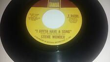 STEVIE WONDER I Gotta Have A Song / Heaven Help Us All TAMLA 54200 45