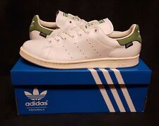 Adidas Originals Stan Smith GORE-TEX GTX Sneakers (US Sz 9.5) White/Green S80049