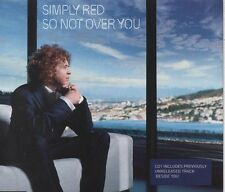 SIMPLY RED So not over you   2 TRACK CD   NEW - NOT SEALED
