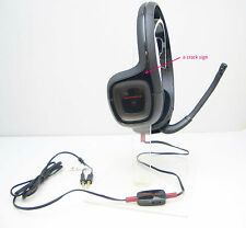 GameCom 307 Binaural Black Gaming Computer Stereo PC Headset with Sratch Mark