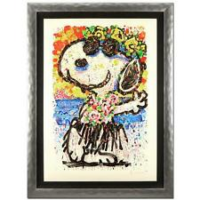 "FRAMED ""BOOM SHAKA LAKA LAKA (SNOOPY)"" by TOM EVERHART LE PEANUTS FREE SHIPPING!"