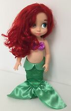 "DISNEY STORE 16""  LITTLE MERMAID ANIMATOR DOLL TODDLER ARIEL DISNEY PRINCESS"
