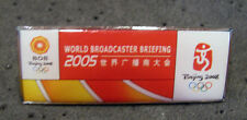 Beijing RARE Olympic Games World Broadcaster Briefing Meeting staff media pin