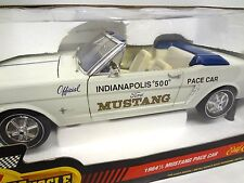 1965 Mustang Indy 500 Pace Car ERTL 1:12 scale model diecast Indianapolis parts