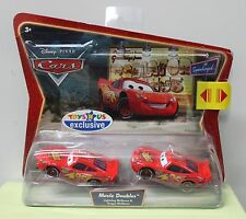 LIGHTNING & TONGUE MCQUEEN Movie Doubles Disney Pixar Cars Diecast TRU M5999 NEW