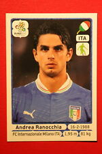 Panini EURO 2012 N.  320 ITALIA RANOCCHIA NEW With BLACK BACK TOPMINT!!
