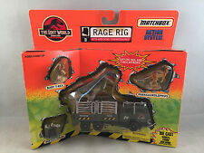 Matchbox Jurassic Park The Lost World Rage Rig with T-Rex 50713 New in Box