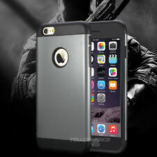 Shockproof PC TPU Dirt DustProof Hard Soft Dual Cover Case For iPhone 6 6S Plus