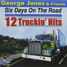 George Jones - Six Days on the Road: 12 Truckin Hits [New CD]