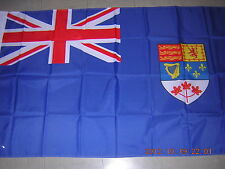 NEW British Empire Flag Canada Pre 1965 Blue Navy Naval Ensign Red leaf 3X5ft