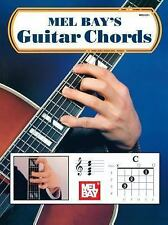 Guitar Chords by Mel, Publications, Inc. Staff Bay (1959, Book, Other)
