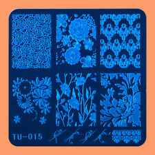 NEW Stamping Manicure Image Nail Art Image Stamp Template Tool Plate Polish T-15