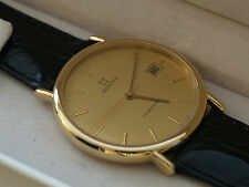 Gents ZENITH Cosmopolitan Gold Plated & Stainless Steel Quartz Watch New Boxed