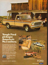 1979 Print ad for FORD Pick-up trucks/Cream/Gold (081013)