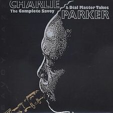 The Complete Savoy and Dial Master Takes by Charlie Parker (Sax) (CD,...