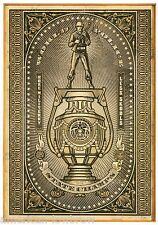 Obey Giant Shepard Fairey Poster Print World Police Champs Political Propaganda