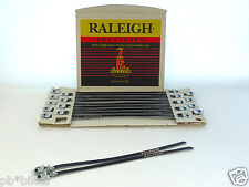 Raleigh Pedal Toe Strap wall card Vintage road & track bike Pista 10 PAIR NOS