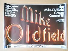 MIKE OLDFIELD   1981  Bremen    orig.Concert Poster  - Tour Poster    84 x 60 cm