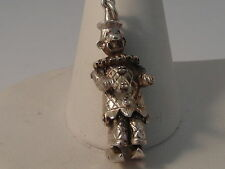 38G LADIES STERLING SILVER MOVEABLE CLOWN CHARM/PENDANT
