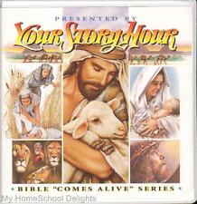 New YOUR STORY HOUR BIBLE COMES ALIVE #4 12 CDs Audio SET Old and New Testament