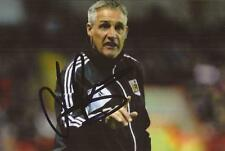 BRISTOL CITY: JOHN PEMBERTON SIGNED 6x4 ACTION PHOTO+COA