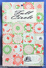 Full Circle Pattern (2 Sizes) Throw & Baby Blanket Busy Bee Quilt Designs New