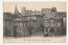 France, Avignon, Place Grillon Postcard, B190