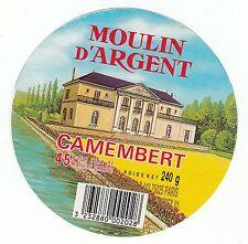 FROMAGE CAMEMBERT MOULIN D ARGENT FABRIQUE DANS LE CHER