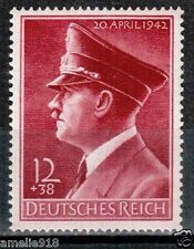 WW2 German Reich stamp 1942 Hitler's 53rd birthday. Mi.813X MNH. CV€15