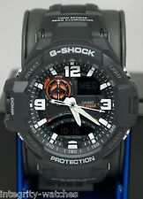 New Casio GA1000-1A G-Shock Aviation Twin Sensor Analog-Digital Men's Watch