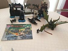 Mega Bloks - Dragons Krystal Wars - Maraaders Cliff -9885