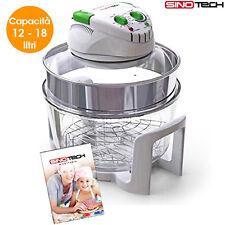 Imperdibile forno alogeno fornetto ventilato con termostato 1400 watt novità new