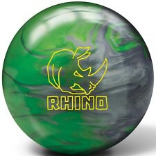 14lb Brunswick Rhino Green Silver Pearl Reactive Bowling Ball NEW