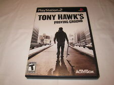 Tony Hawk's Proving Ground (Playstation PS2) Original Release Complete Excellent